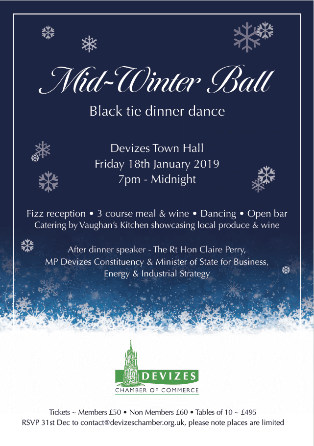 Devizes Chamber Mid-Winter Ball 2019